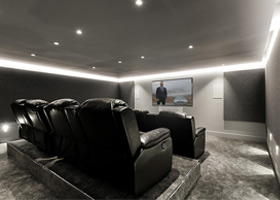 Cinema Room Build – Surrey